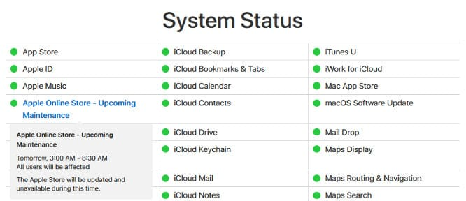 Apple Store going down for 'maintenance' tomorrow morning, sparking rumors of product launch