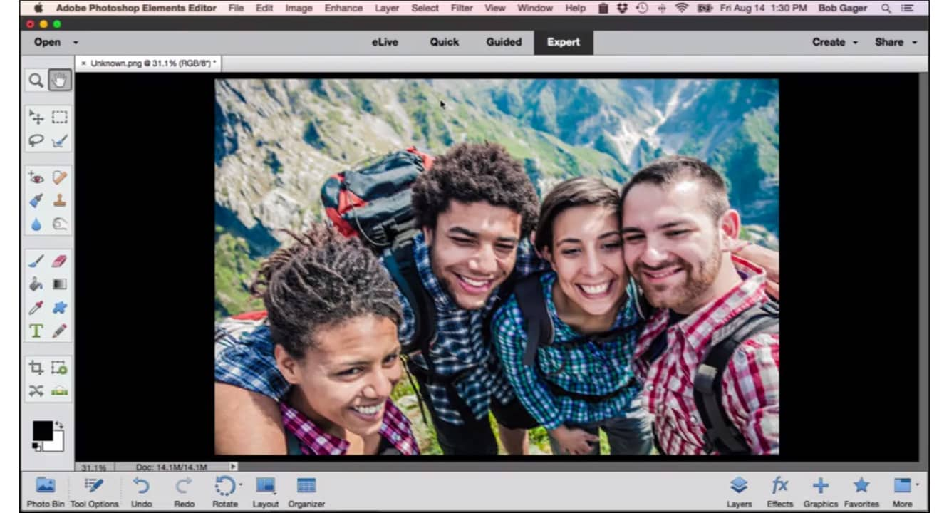 Adobe Photoshop and Premiere Elements 14