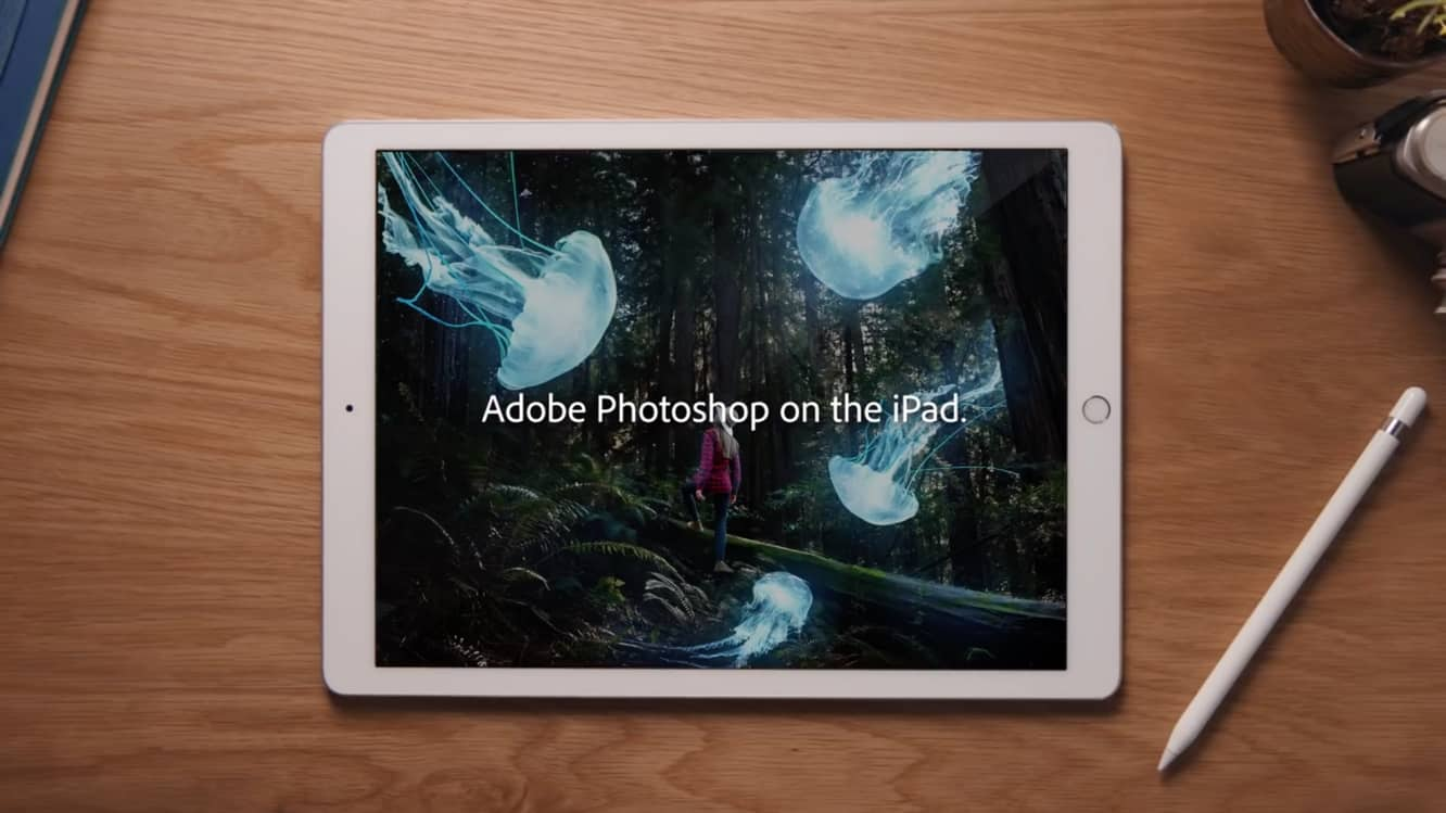 Adobe officially previews Photoshop on the iPad, coming in 2019