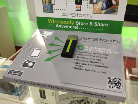 Live from 2012's CES: Key new Apple products, Part 3: AirStash, BulletTrain, Moshi + More