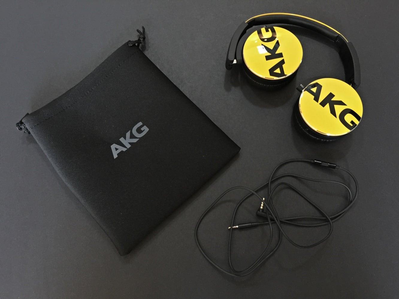 Review: AKG Y50 On-Ear Headphones
