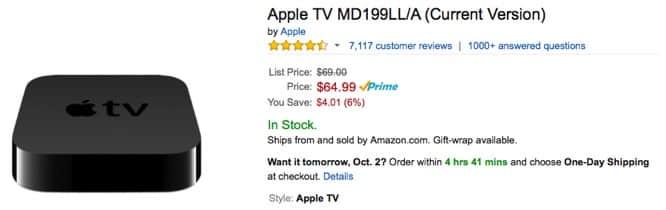 Amazon to ban sale of Apple TV
