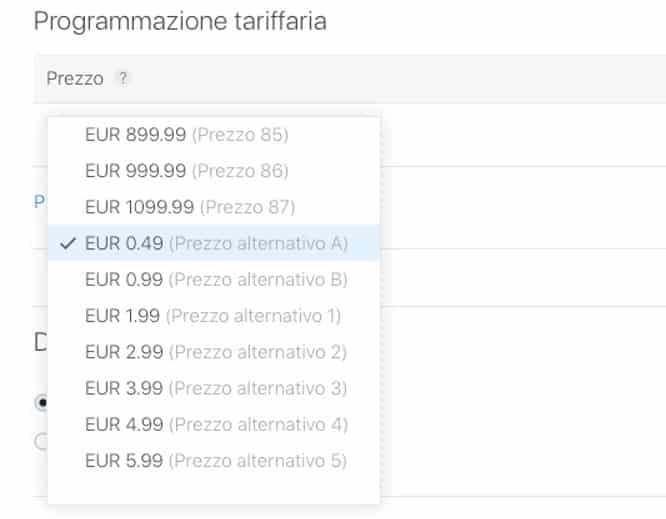 Apple seems to add variable App Store pricing after increases