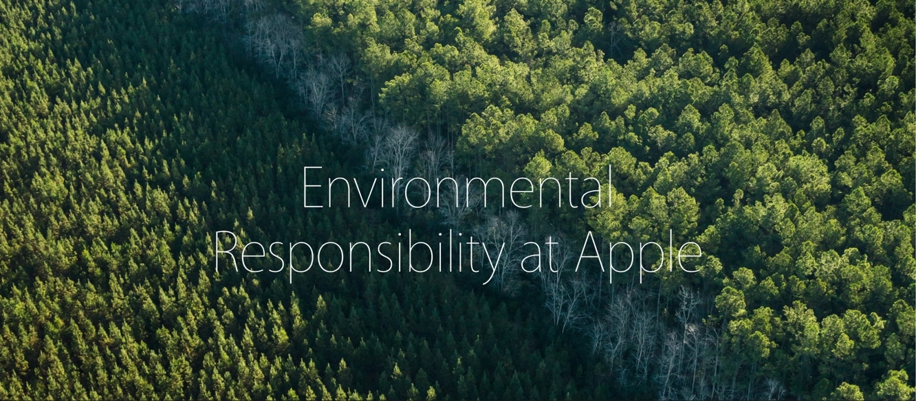 Apple releases its 2016 Environmental Responsibility Report
