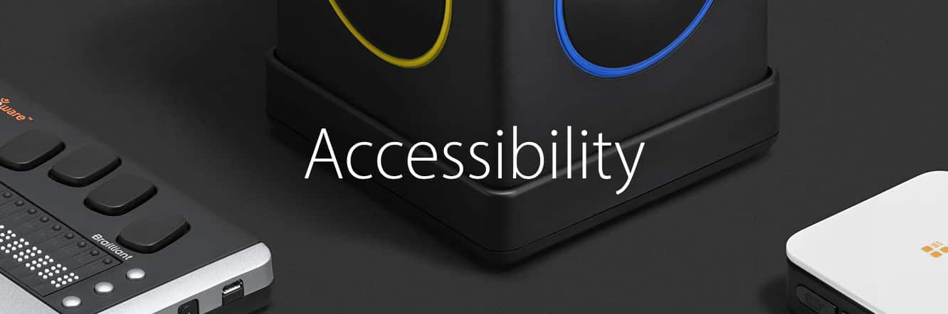 Apple adds Accessibility section to its online store