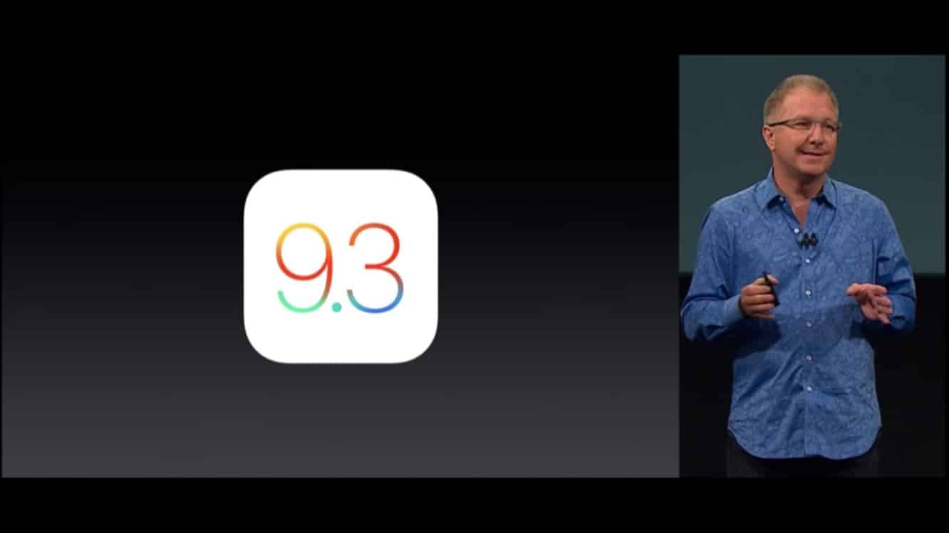 Apple releases iOS 9.3 with Night Shift, Notes + CarPlay improvements, much more