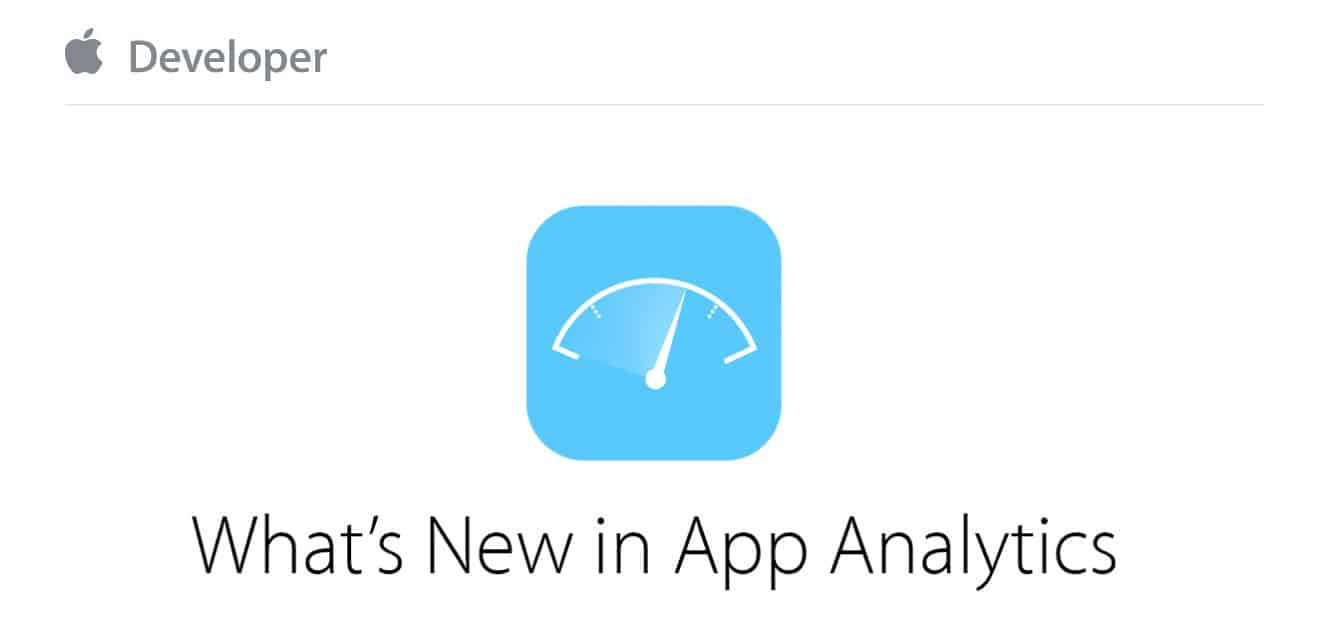 Apple takes App Analytics out of beta, adds new features