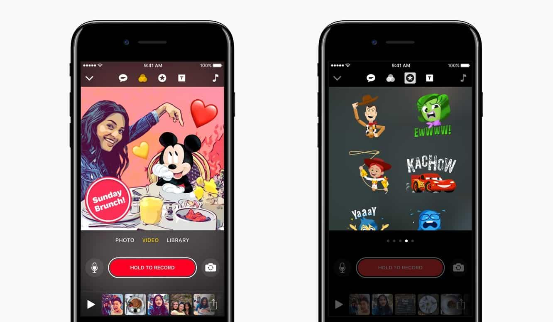 Apple updates 'Clips' app with Disney and Pixar content