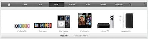Apple makes modest changes to website design