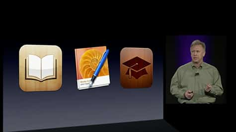 Apple posts streaming video of education event