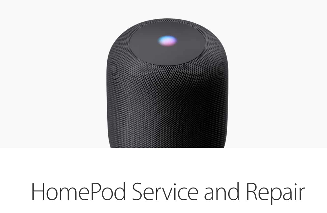 Apple outlines HomePod repair fees