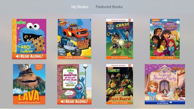 Apple releases iBooks StoryTime for Apple TV