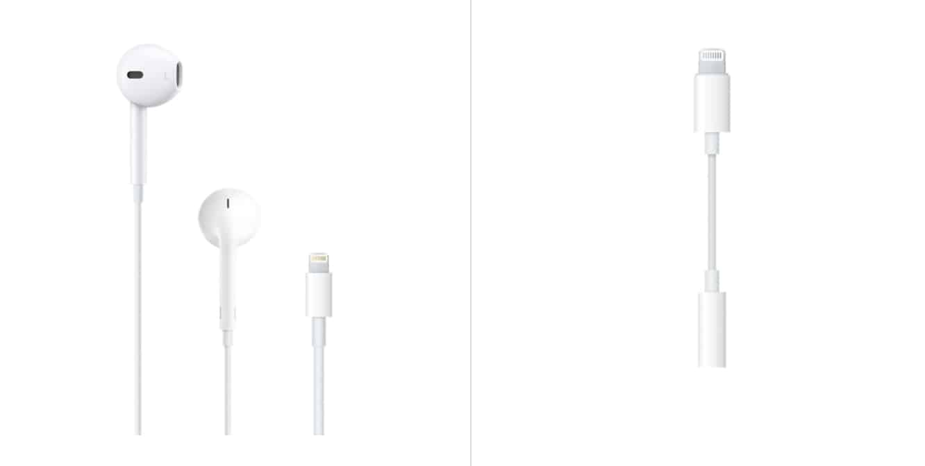 Apple adds iPhone 7 accessories to store, including Lightning EarPods and Lightning audio adapter