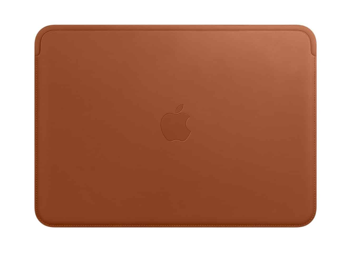 Apple Leather Sleeve for 12‑inch MacBook