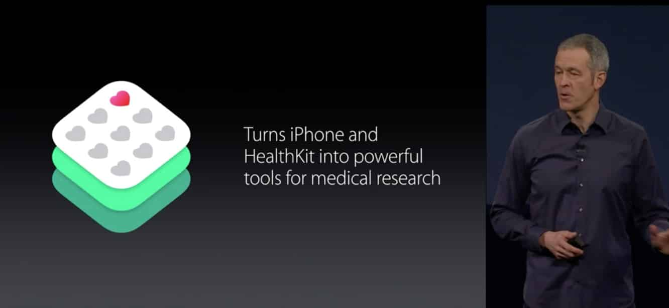 Apple announces ResearchKit to assist medical research data collection