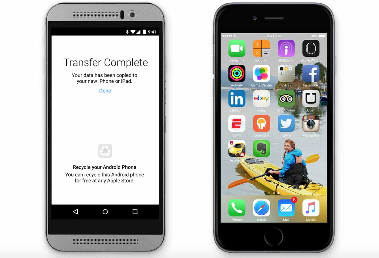 Apple to release 'Move to iOS' app for iOS 9