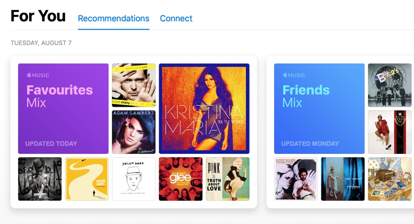 Apple Music rolling out new social 'Friends Mix'