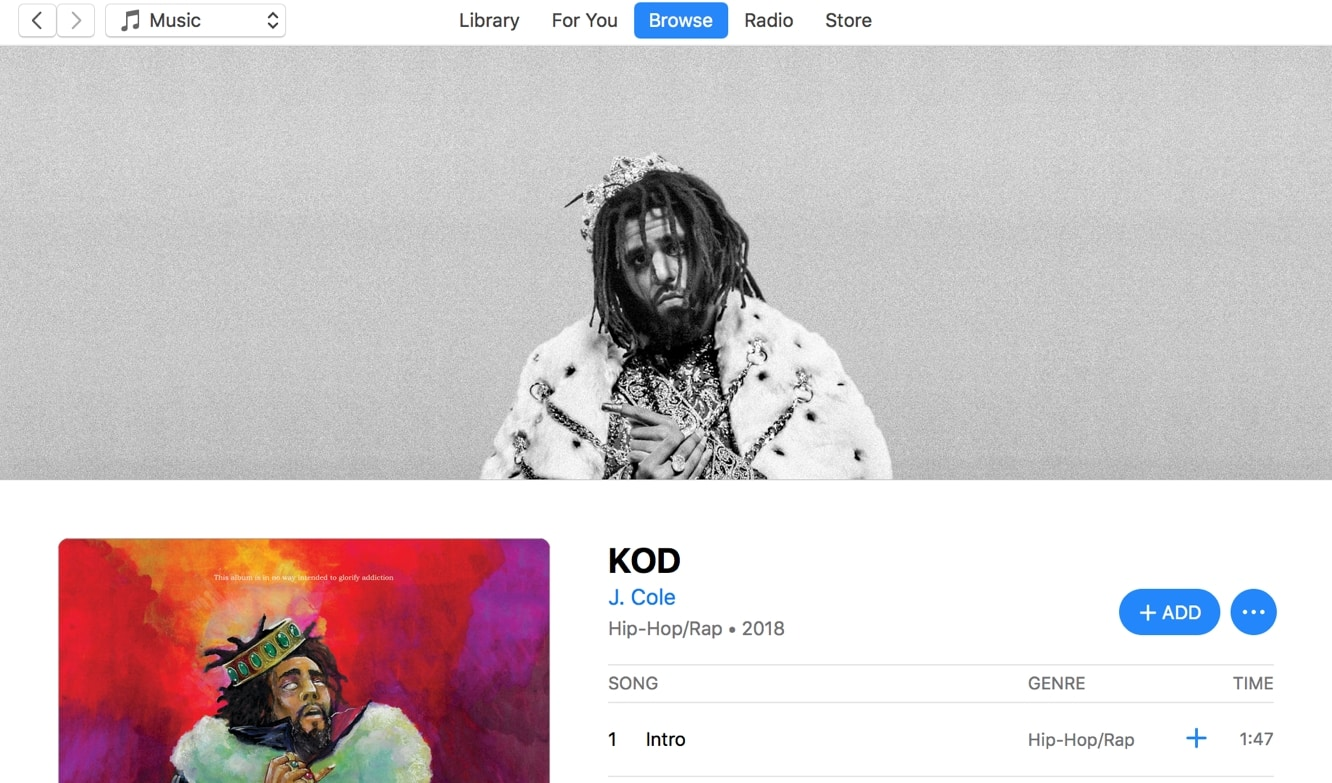 J. Cole's 'KOD' beats out Drake's 'Views' streaming record on Apple Music