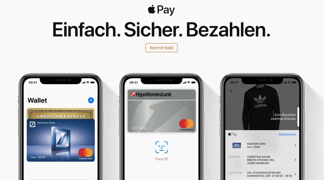 German Apple Pay launch imminent