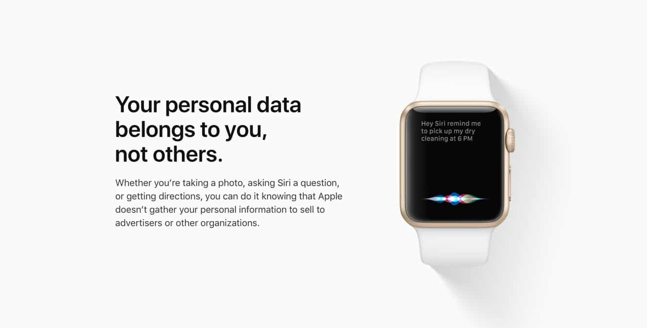 Apple to introduce web-based feature to allow users to download all of their data