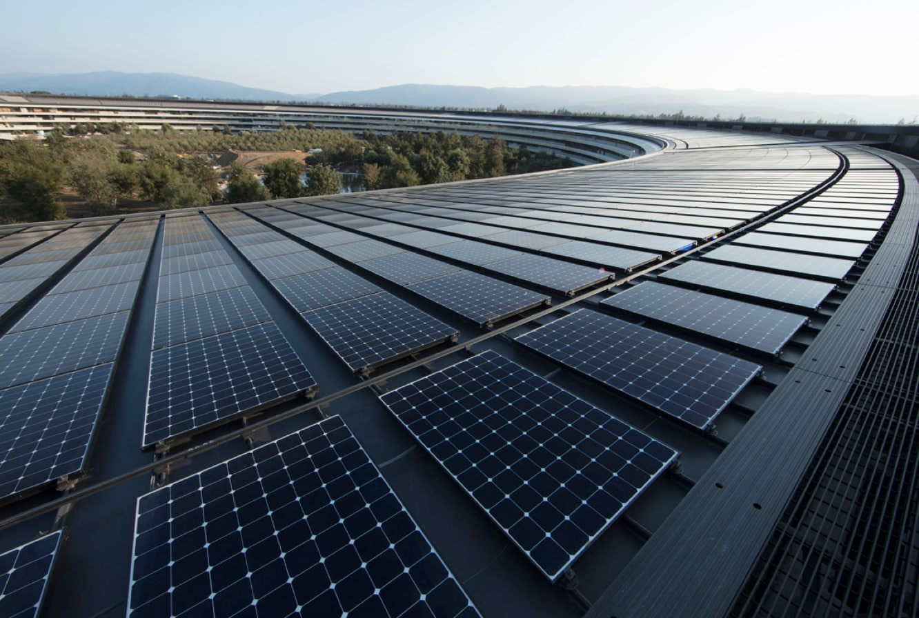 Apple announces all facilities now fully powered by renewable energy