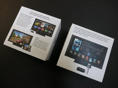 Third-generation Apple TV unboxing, comparison photos posted (Updated)