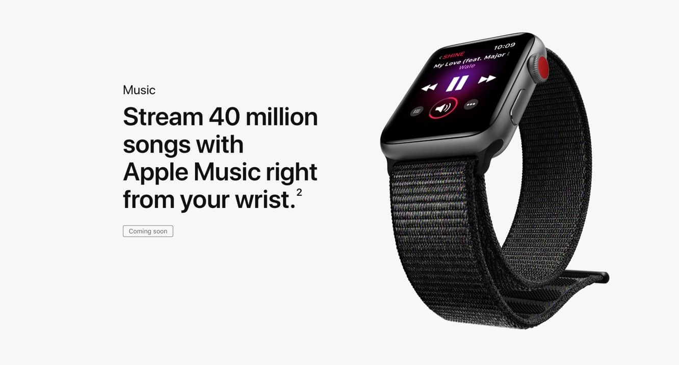 Apple releases first watchOS 4.1 beta, adding Apple Music support