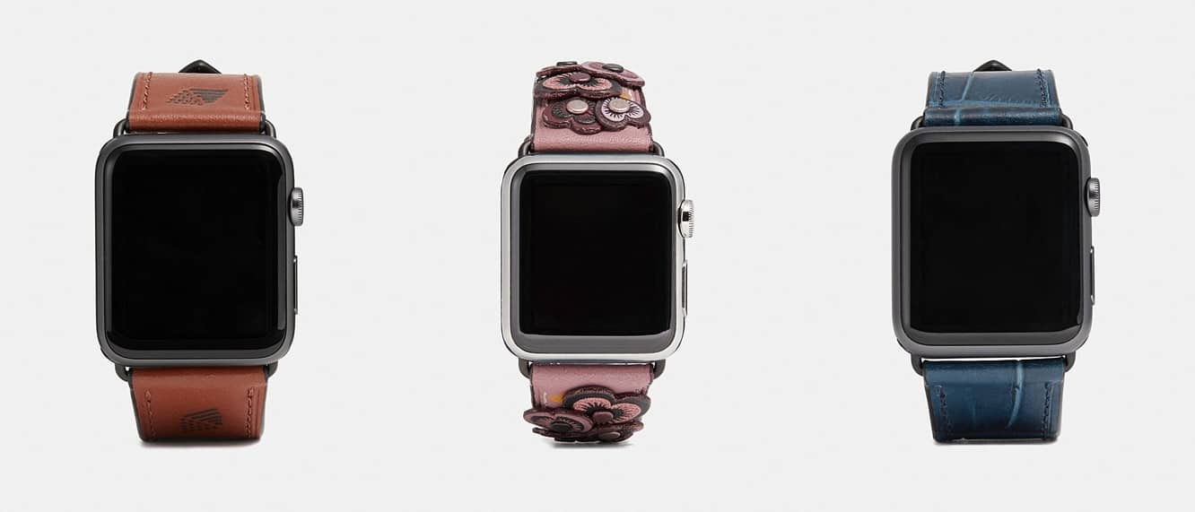 Coach releases new summer lineup of Apple Watch bands