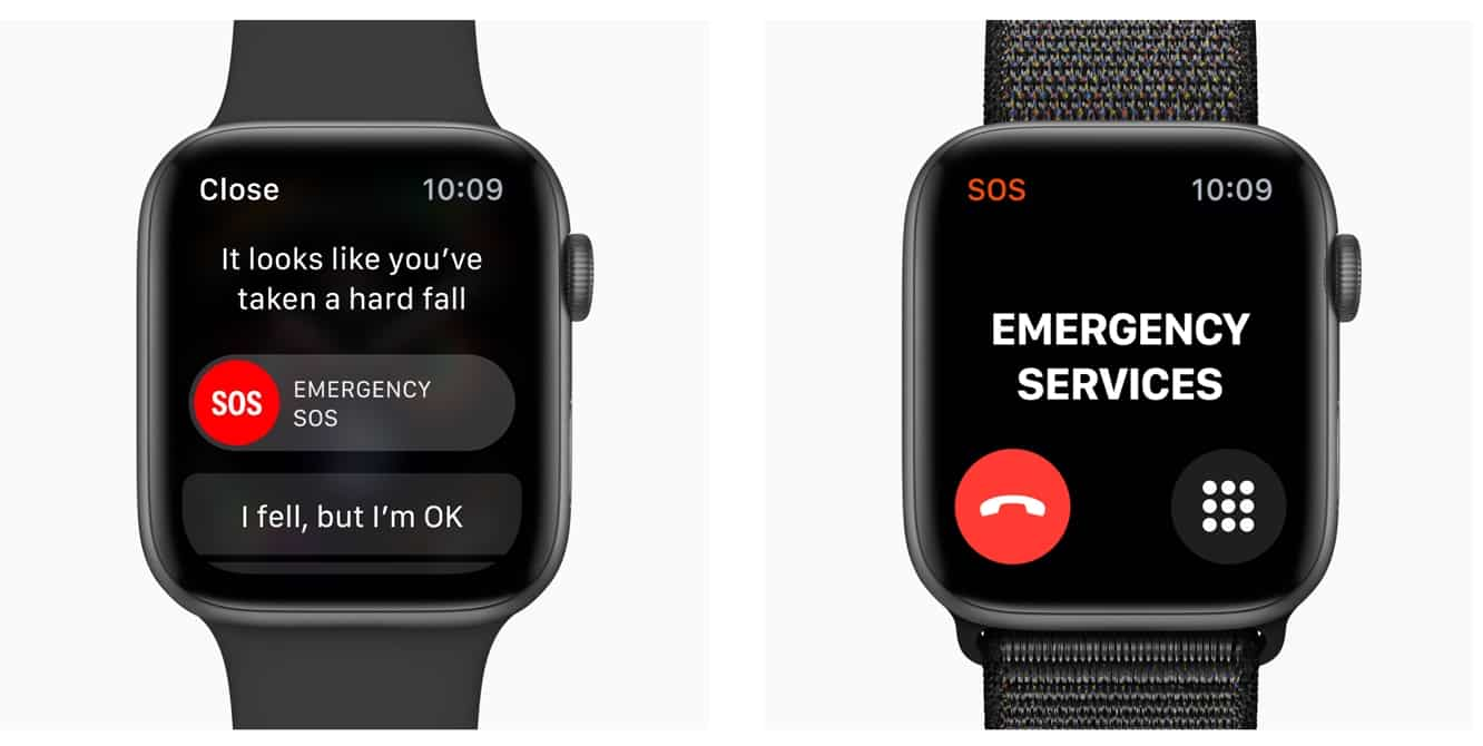 Fall detection on Apple Watch Series 4 only enabled by default for users 65 and over