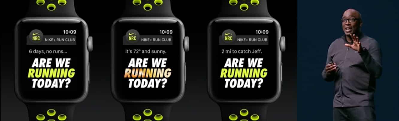 Apple Watch Series 2 and Apple Watch Nike+ boast built-in GPS, swimproof water resistance