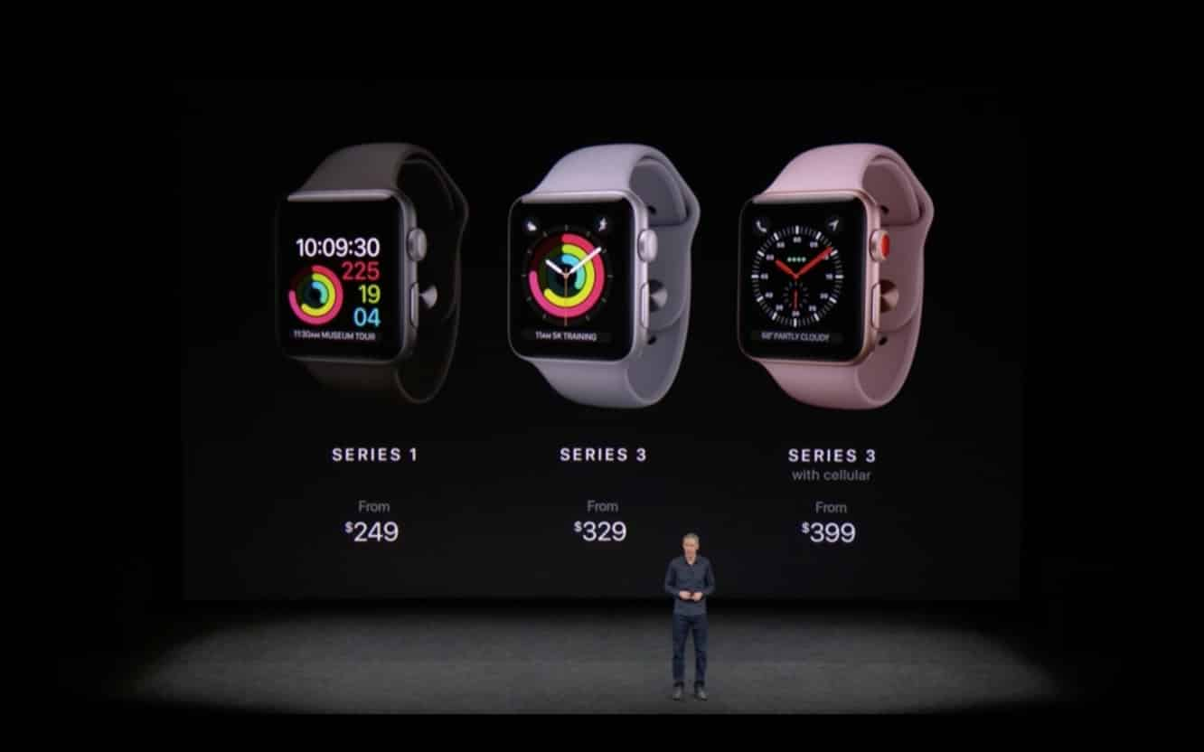 Apple releases Apple Watch Series 3 with Cellular Capabilities