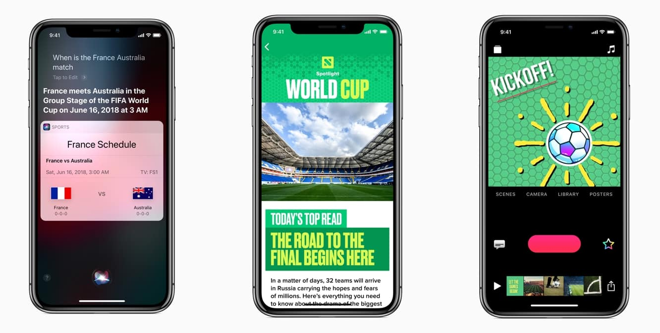 Apple expands Siri support for World Cup, adds new themed content