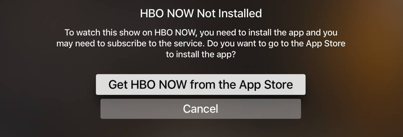 Apple adds nine more apps to universal search in Apple TV