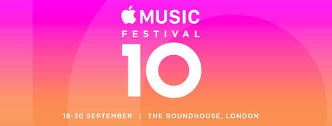 Apple Music Festival set for Sept. 18-30