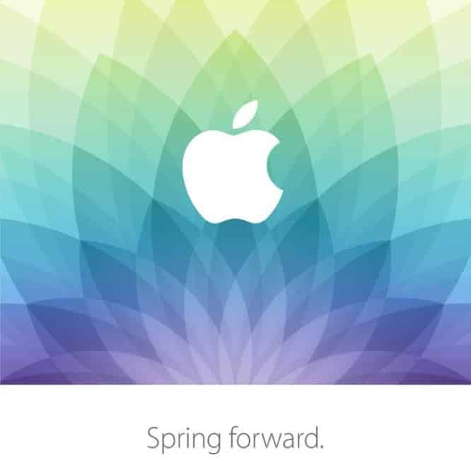 Apple announces 'Spring Forward' event for March 9