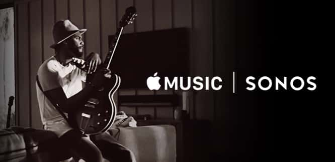 Apple Music available on Sonos starting today