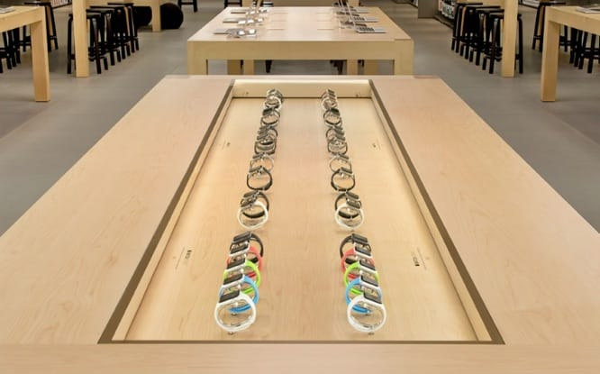 Apple retail stores to have very limited Apple Watch stock