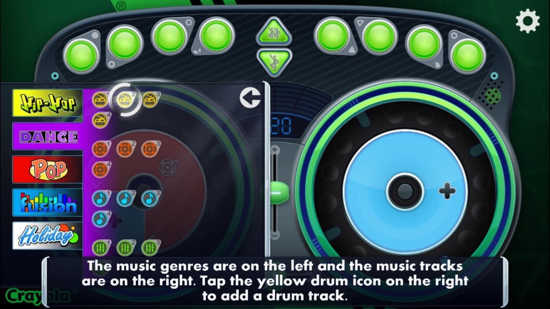Crayola DJ, Heroki, Wonster Words, Geometry Wars 3, Xbox Music