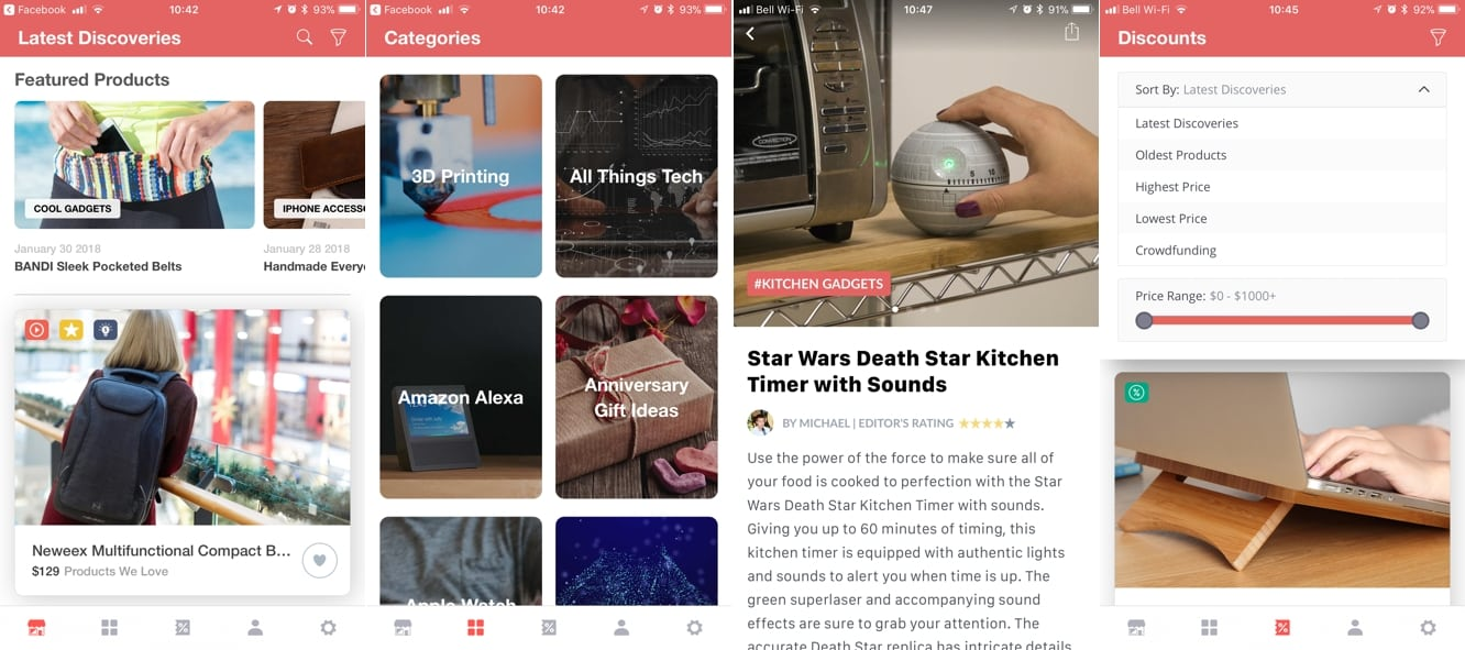 App Diary: GadgetFlow provides a fun and cool way to discover new products