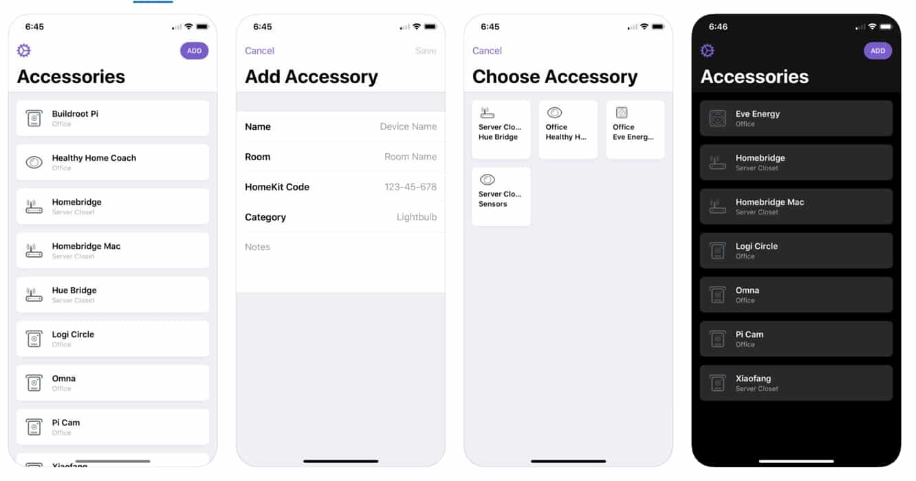 HomePass gives you a place to store all of your HomeKit codes