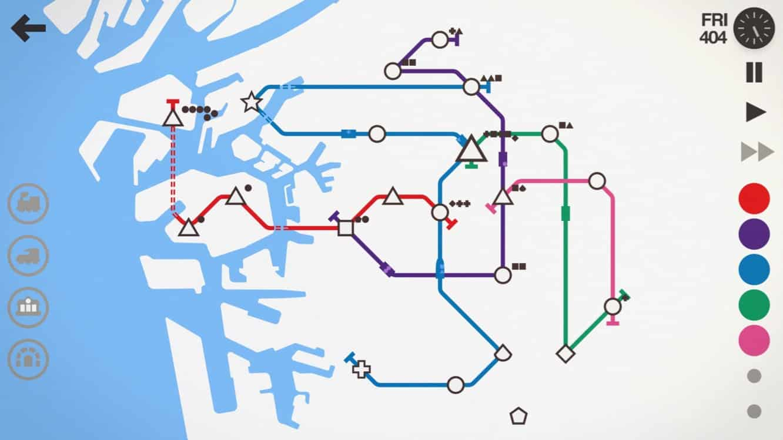 App Diary: Mini Metro, PinOut, Night Sky 4, Scanbot 6