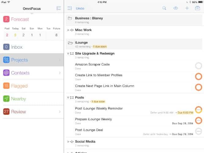 Apps of the Week: OmniFocus 2 for iPad, Transmit, Asphalt Overdrive + more