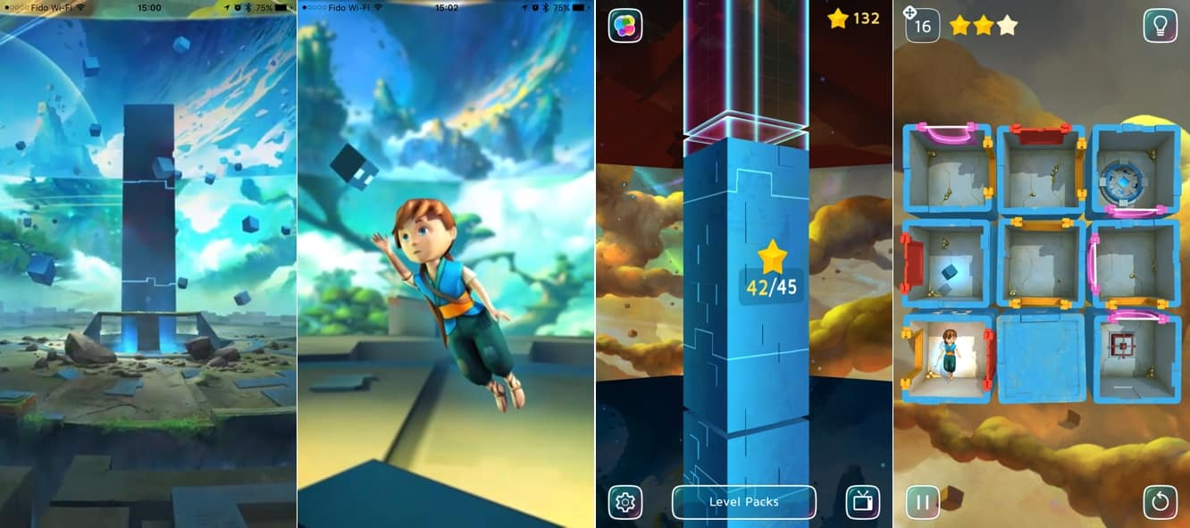 App Diary: Agent A: A Puzzle in Disguise, Magic Fireplace, Strike Ten Pin Bowling, Warp Shift