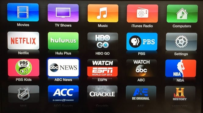 New Apple TV channels: ABC News, AOL On, PBS Kids, Willow