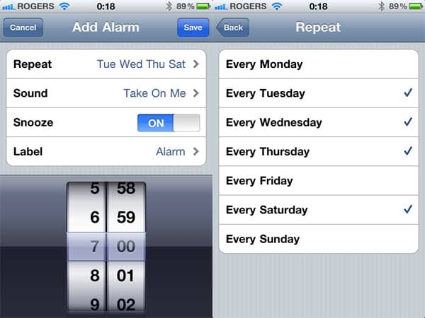 Alarm Clock apps for iPhone