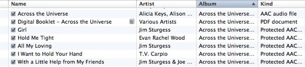 Not all songs transfer to iPod