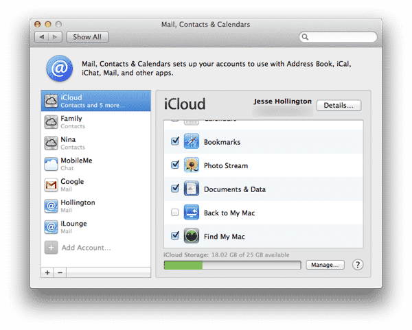 Sharing iTunes & iCloud Accounts in a Family