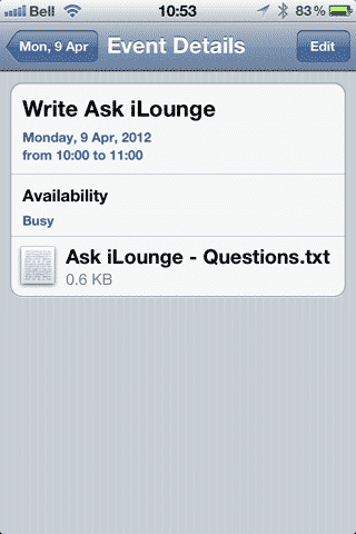 Adding Attachments to iCloud Calendar Events