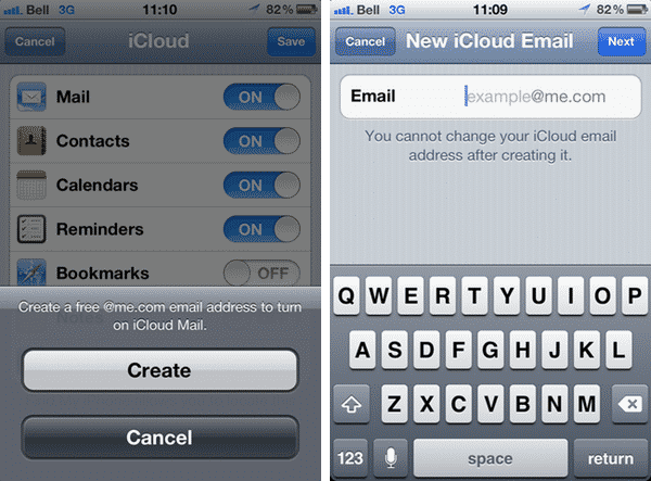 Apple IDs, iTunes accounts and iCloud e-mail addresses