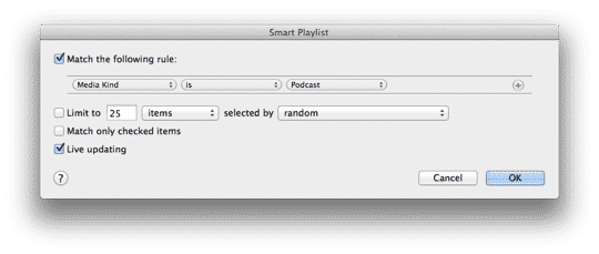 Tracking down phantom Podcasts in iTunes